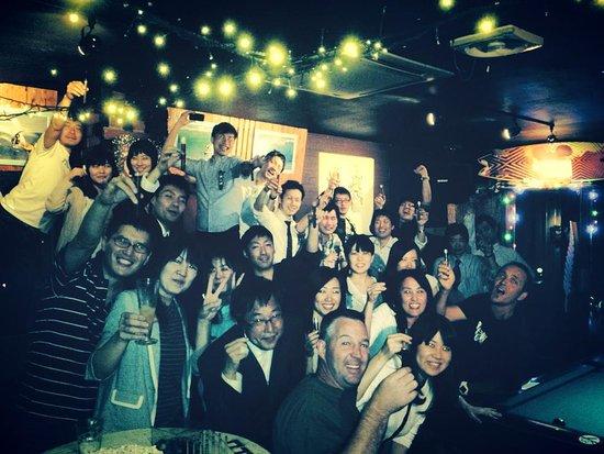 The Bar Miyazaki : ¥200 Jäger shots at 9 and 12