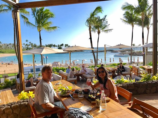 Four Seasons Resort Oahu At Ko Olina Fish House Is They Outdoor Dining Facing The