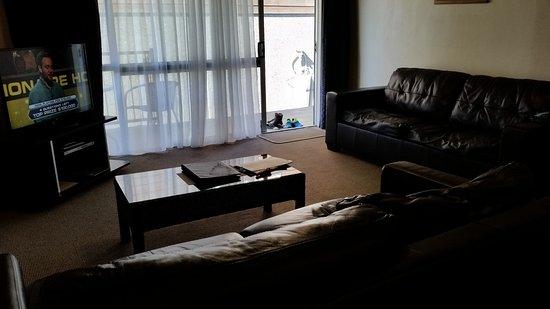 Timaru, Nouvelle-Zélande : living room