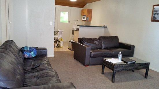 Aspen on King: living room