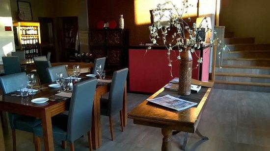 Las Bayas Hotel & Restaurant: sala ristorante