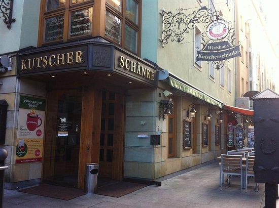 Das Restaurant liegt ganz in der Nähe der Frauenkirche - Bild von ...