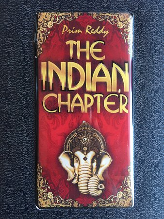 The Indian Chapter Restaurant with Prim Reddy: photo4.jpg