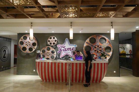 Lobby Hotel Picture Of Fame Hotel Sunset Road Kuta Bali Legian Tripadvisor