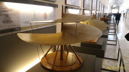 Elicottero Leonardo Da Vinci : L elicottero di leonardo foto museo nazionale della