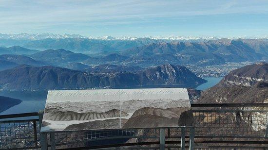Canton of Ticino, Switzerland: Vista dalla cima