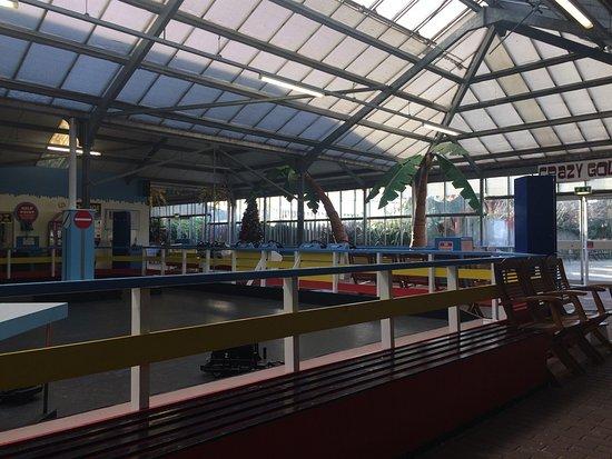Newhaven, UK: Indoor play area