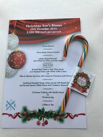 david s kitchen the menu christmas eve