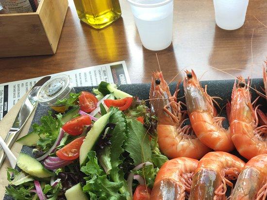Choofas Smokehouse & Seafood: Tiger prawns
