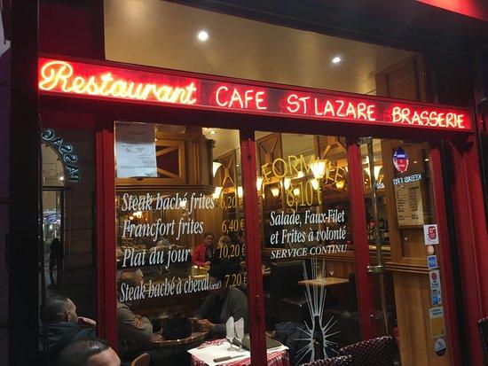 cafe saint lazare paris photo de cafe saint lazare. Black Bedroom Furniture Sets. Home Design Ideas