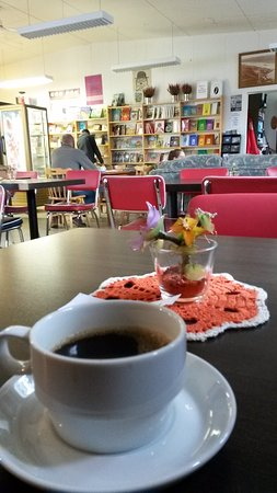 Egilsstadir, Islanda: caffe