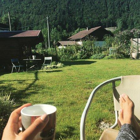Steyrling, Autriche : Heerlijk genieten van de tuin!