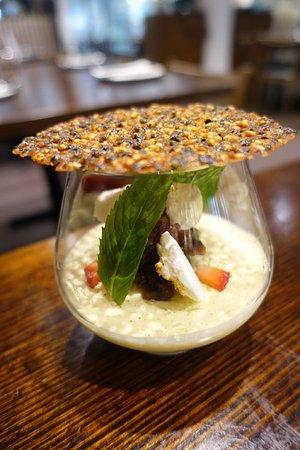 Bankstown, Australia: Sesame Panna Cotta ($13.90)