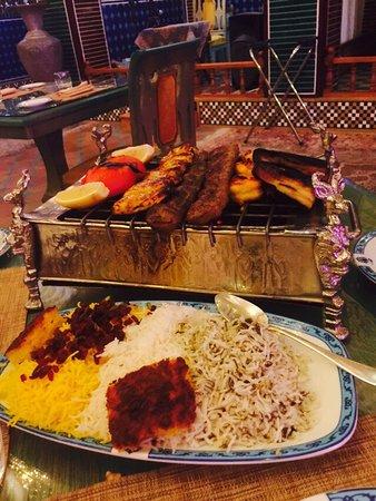Shebestan Palace Restaurant: Persian Platter