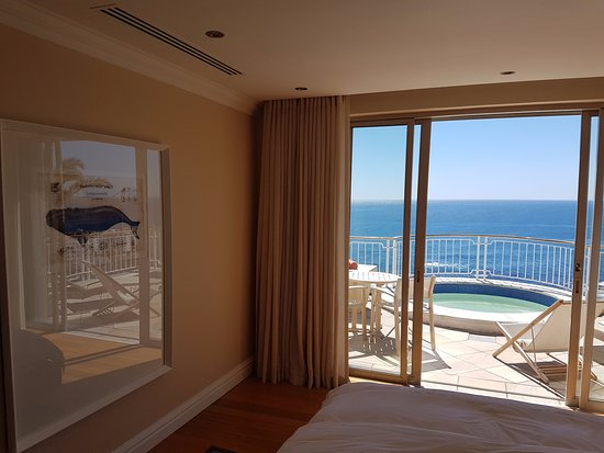 Bantry Bay, Sudáfrica: Room and view