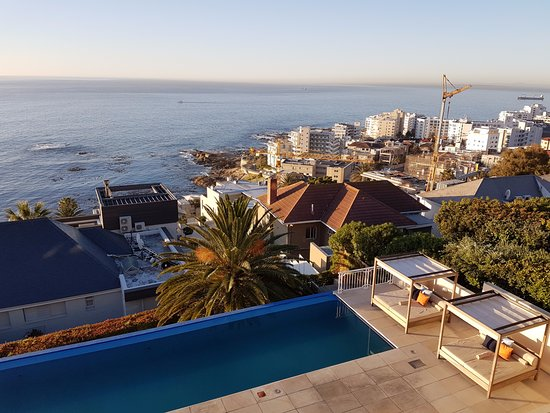 Bantry Bay, South Africa: View from balcony