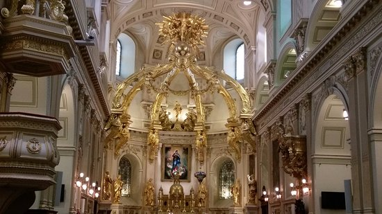 The gift shop in the Cathedral - Picture of Basilique Cathedrale ...