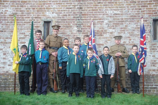 Purfleet, UK: 19th bd scouts      Photos BY Russty