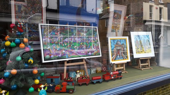 Ramsgate, UK: Shop Window with Reflection