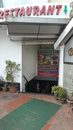 Bellmount Resorts Munnar Multi Cuisine Restaurant: BellMount entrance