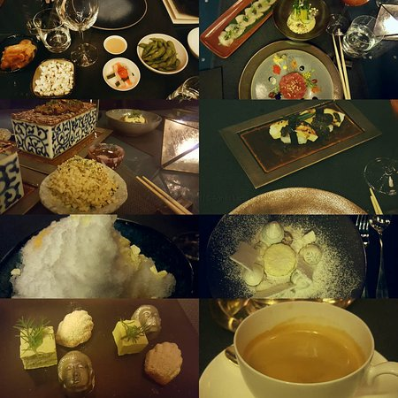 taiko 8 course christmas dinner