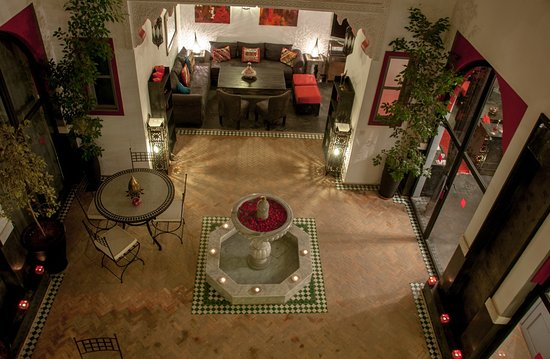 Riad Alegria: Blick auf die Lobby