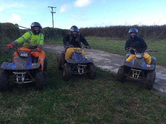 Ilfracombe, UK: Good Boxing Day quad bike ride