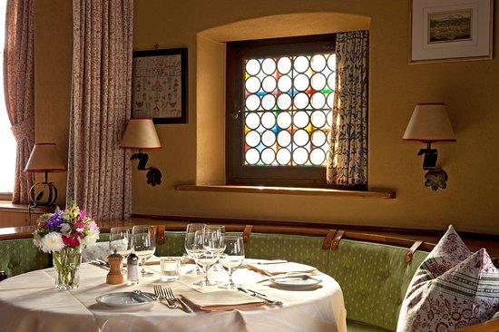 Romantik Hotel Chesa Grischuna: Restaurant