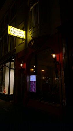 Indian Restaurant Maharani: Outside view