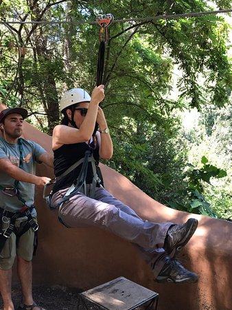 Cascada de las Animas: El Canopy es lo mejor. Excelente actividad, muy seguro y los guías muy profesionales.