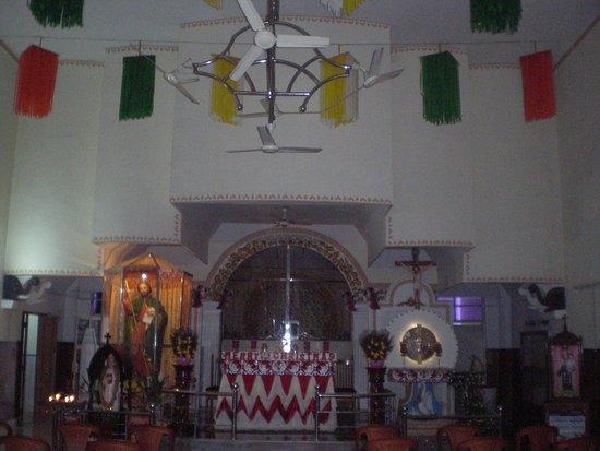 Kodungallur, Ấn Độ: Holy relics chamber