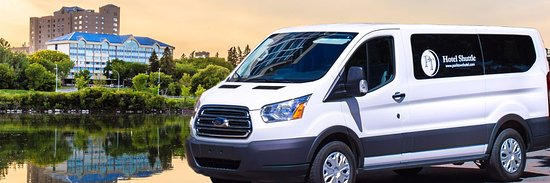 """Park Town Hotel: Shuttle Bus provides """"Shuttle Anywhere"""" service to/from anywhere within Saskatoon city limites"""