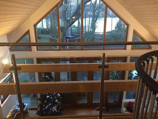 Forton, UK: The tree house
