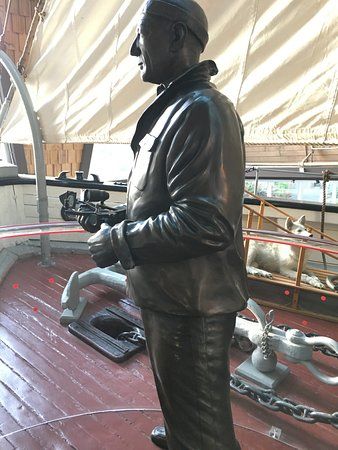 Vancouver Maritime Museum: The Capitan of the St Roch