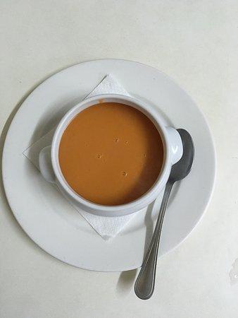 Alcalali, Espagne : sopa de tomate