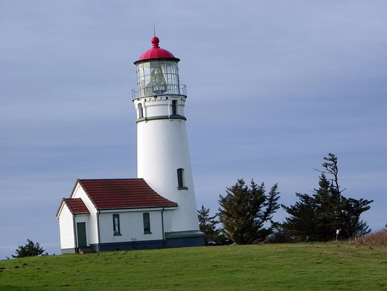 Port Orford, OR: Cape Blanco Lighthouse