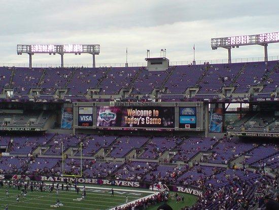 welcome to today s game foto de m t bank stadium baltimore rh tripadvisor com br