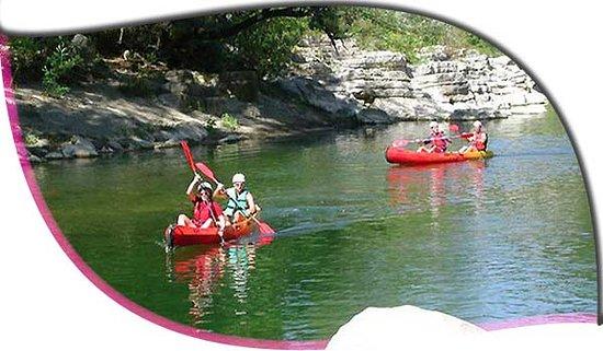 Cazilhac, Fransa: canoe cayak sur l'hérault