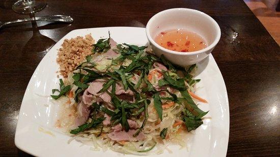 Pho Xinh: Beef Carpaccio