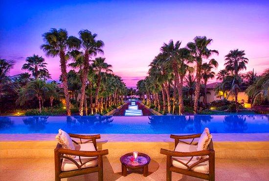 The St. Regis Punta Mita Resort: Altamira Lobby at sunset