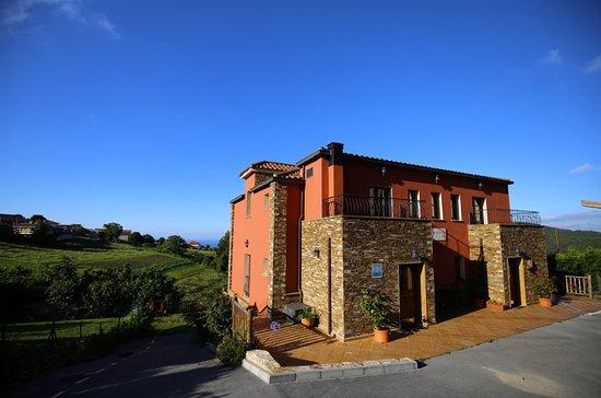 Hotel Montesomao: fachada principal