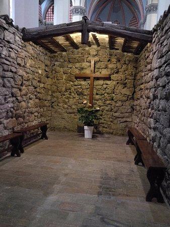 Rivotorto, Italy: stanza della croce