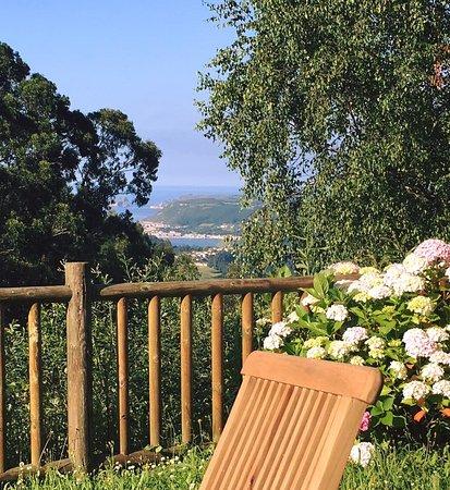 Hotel Montesomao: vistas desde el jardin