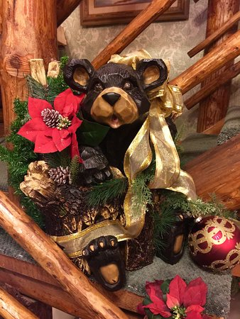 Cedar Crest, NM: Decoration on landing going to Manzano Room Elaine's 2016