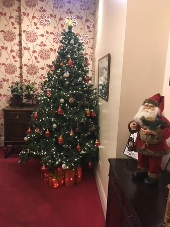Five Rise Locks Hotel: Festive reception!