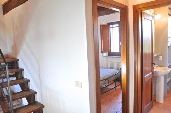 Borgo Solario : disimpegno di un appartamento 2+3