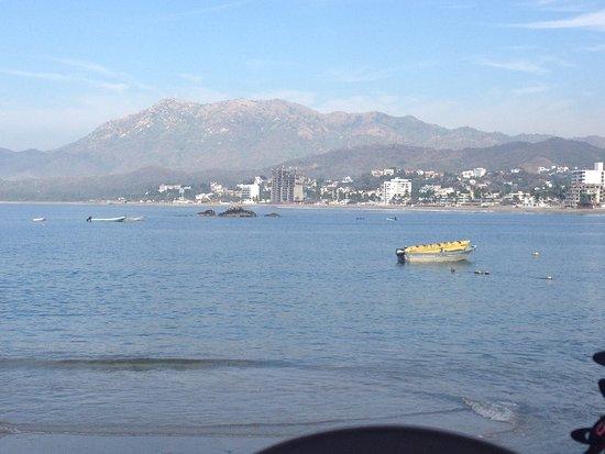 Hotel Playa de Santiago: Sunday Breakfast View