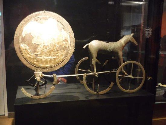 Nationalmuseet: Sun chariot