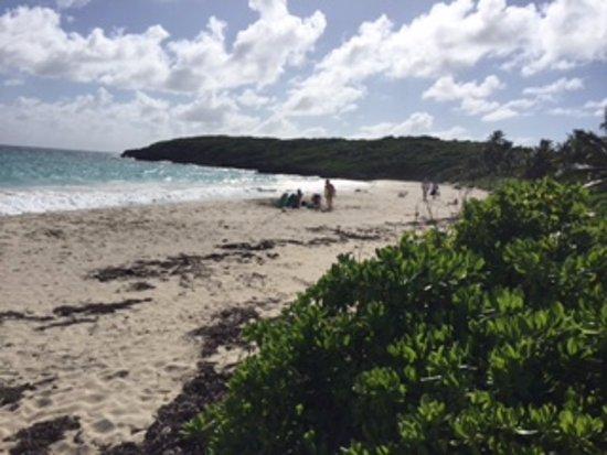 Navío Beach : Best waves on the island