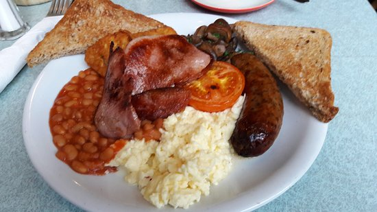 Edins Deli Cafe: Full English Breakfast